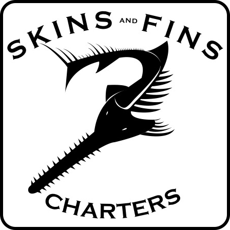 Skins and Fins Charters Logo
